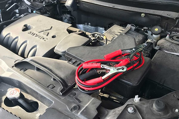start a car with a dead battery