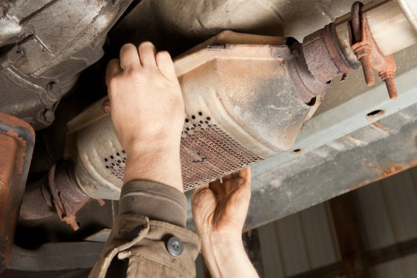 Replacing Exhaust System