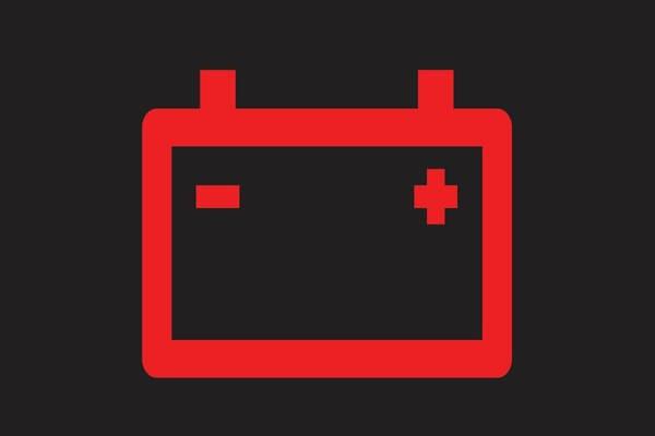 Battery Charging System warning light Symbol