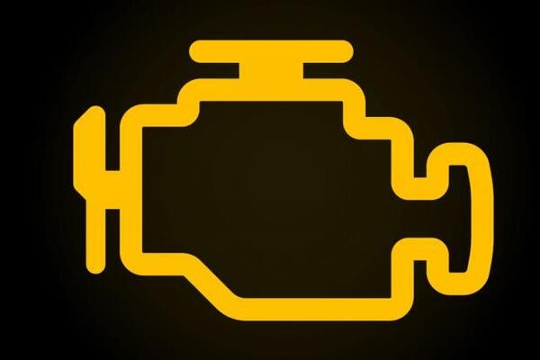 Check Engine Warning Sign