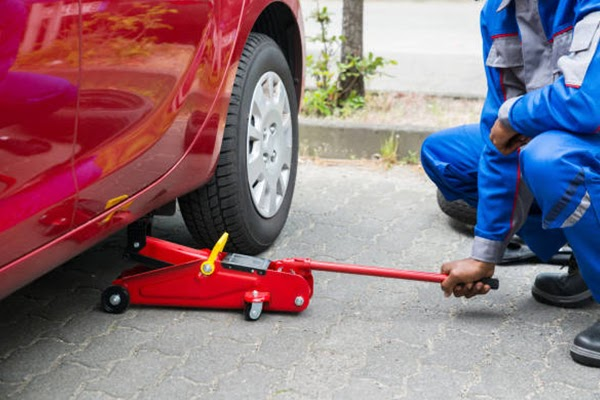 Floor Car Jack - How to Use