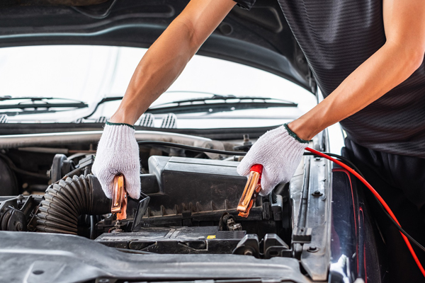 charging your car battery at home