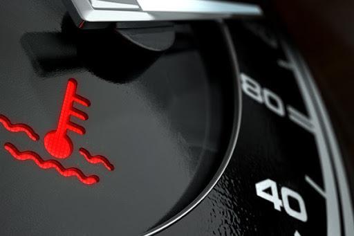 Engine Coolant Warning Light
